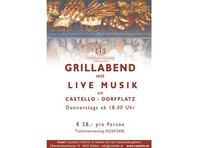 Castello Falkner - Flugblatt