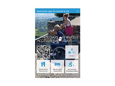 Appwerbung - Holidays on Wheels