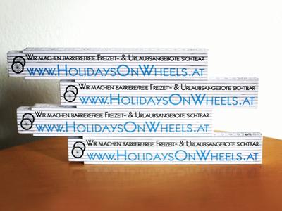 Holidays on Wheels - Zollstäbe