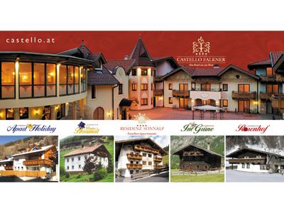 Castello Falkner - Postkarte