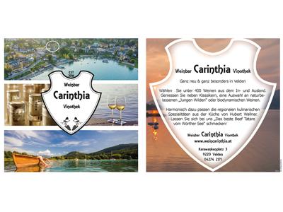 Flyer Weinbar carinthia